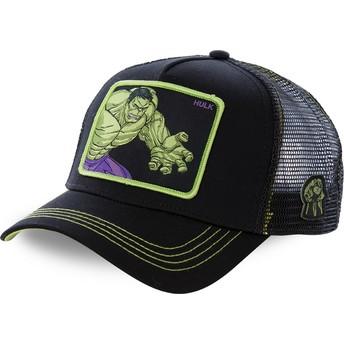 Capslab Hulk HLK5 Marvel Comics Trucker Cap schwarz