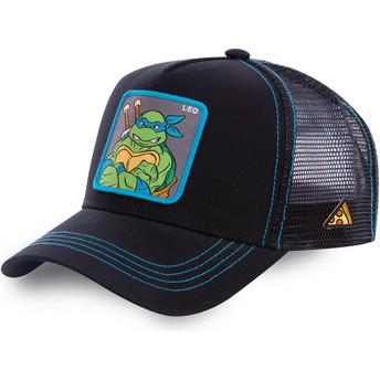 Capslab Leonardo LEO Teenage Mutant Ninja Turtles Trucker Cap schwarz