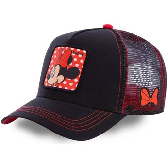 Capslab Minnie Mouse MIN1 Disney Trucker Cap schwarz