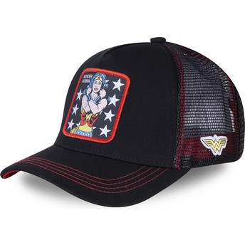 Casquette trucker noire Wonder Woman WON2 DC Comics Capslab
