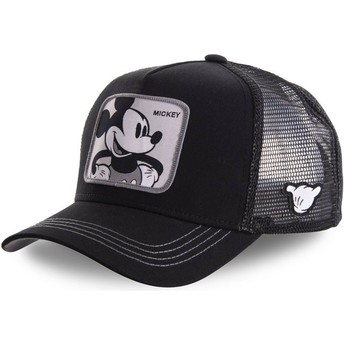 Capslab Mickey Mouse MIC5 Disney Trucker Cap schwarz