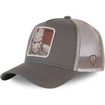 Capslab Groot GRO3 Marvel Comics Trucker Cap grün