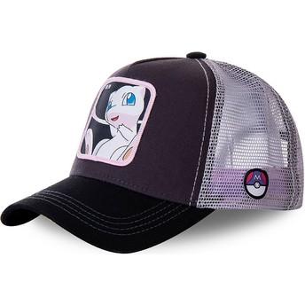 Casquette trucker noire et blanche Mew MEW3 Pokémon Capslab