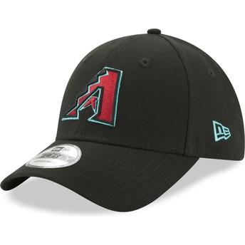 Casquette courbée noire ajustable 9FORTY The League Arizona Diamondbacks MLB New Era