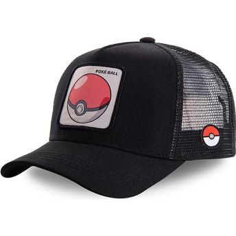 Casquette trucker noire Poké Ball POK1 Pokémon Capslab