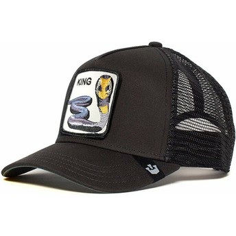 Goorin Bros. Cobra Bite Me Black Trucker Hat