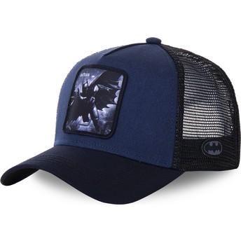 Casquette trucker bleue marine Batman BAT4 DC Comics Capslab