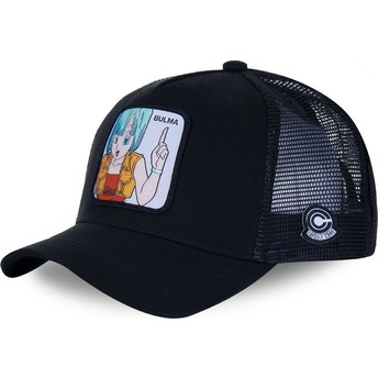 Casquette trucker noire Bulma BUL2 Dragon Ball Capslab