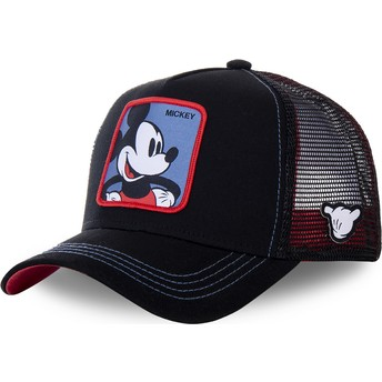 Capslab Mickey Mouse MIC2 Disney Black Trucker Hat