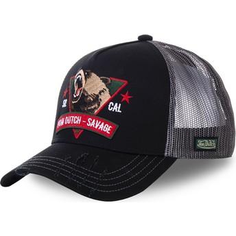 Von Dutch Savage SAV2 Black Trucker Hat