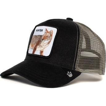 Goorin Bros. Wolf Hunter In The Woods Black and Grey Trucker Hat