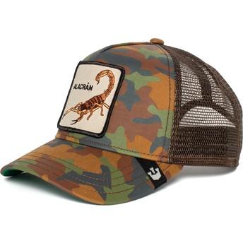 Casquette trucker camouflage scorpion Alacran Goorin Bros.