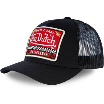 Von Dutch BLKA Black Trucker Hat