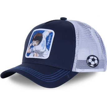 Capslab Youth Tsubasa Oozora KID_TSU2 Captain Tsubasa Navy Blue and Grey Trucker Hat