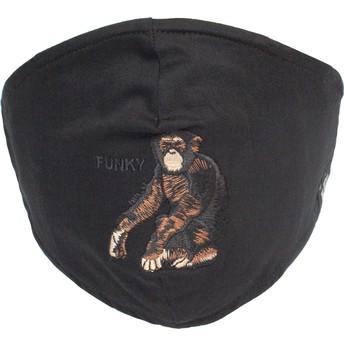 Masque réutilisable noir singe Silly Monkey Goorin Bros.