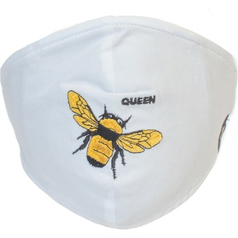 Goorin Bros. Buzzy Bee White Reusable Face Mask