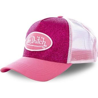 Von Dutch PIN Pink Trucker Hat