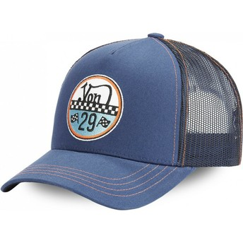 Casquette trucker bleue ADAM BLU Von Dutch