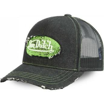 Von Dutch ADRI GRE Black Trucker Hat