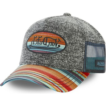 Von Dutch ATRU IND Grey Trucker Hat