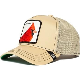 Goorin Bros. Bird Handsome Boy Khaki Trucker Hat