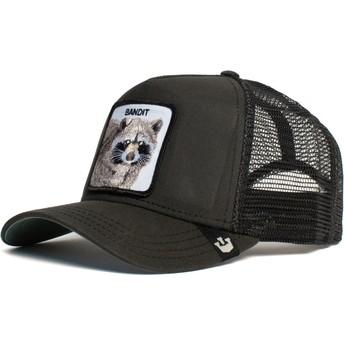 Goorin Bros. Raccoon Bandit Black Trucker Hat
