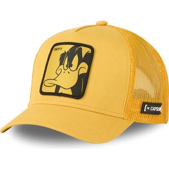 Casquette trucker jaune Daffy Duck LOO DUF1 Looney Tunes Capslab