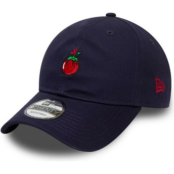 Casquette courbée bleue marine ajustable 9TWENTY Food Sauce Tomate New Era