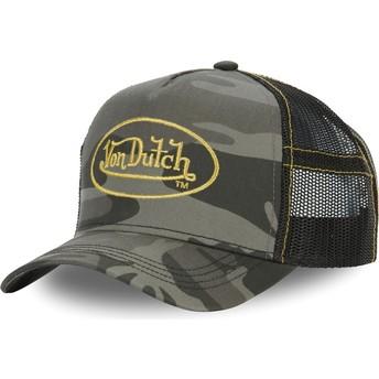 Casquette trucker camouflage CAM GOL Von Dutch