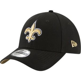 Casquette courbée noire ajustable 9FORTY The League New Orleans Saints NFL New Era