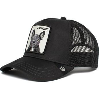 Goorin Bros. French Bulldog Frenchie The Farm Black Trucker Hat