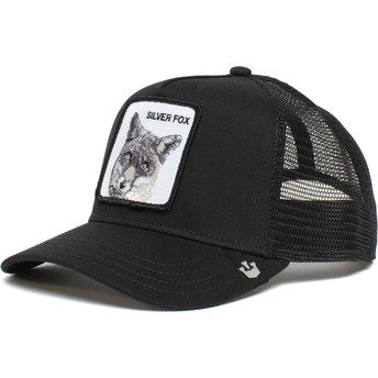 Goorin Bros. Silver Fox The Farm Black Trucker Hat
