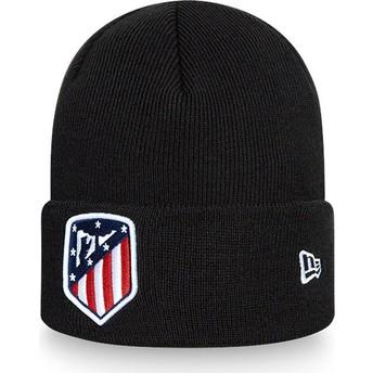 New Era Cuff Knit Atlético Madrid LFP Black Beanie