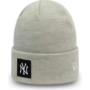 Bonnet gris Team Cuff New York Yankees MLB New Era