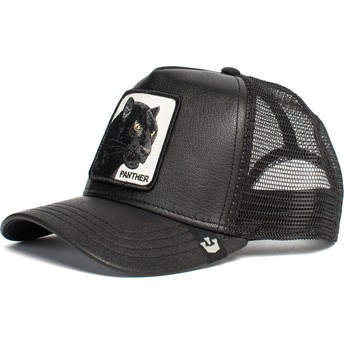 Casquette trucker noire panthère Panther Truth Will Prevail The Farm Goorin Bros.