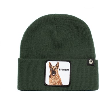 Bonnet vert chien berger allemand Bad Boy Sniff Sniff The Farm Goorin Bros.