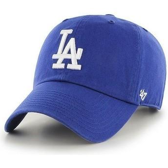 Casquette courbée bleue Los Angeles Dodgers MLB Clean Up 47 Brand