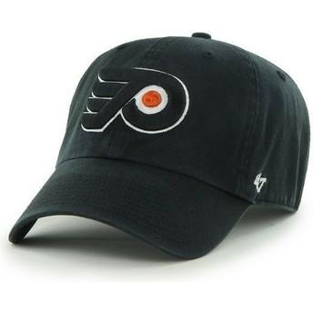 Casquette courbée noire Philadelphia Flyers NHL Clean Up 47 Brand