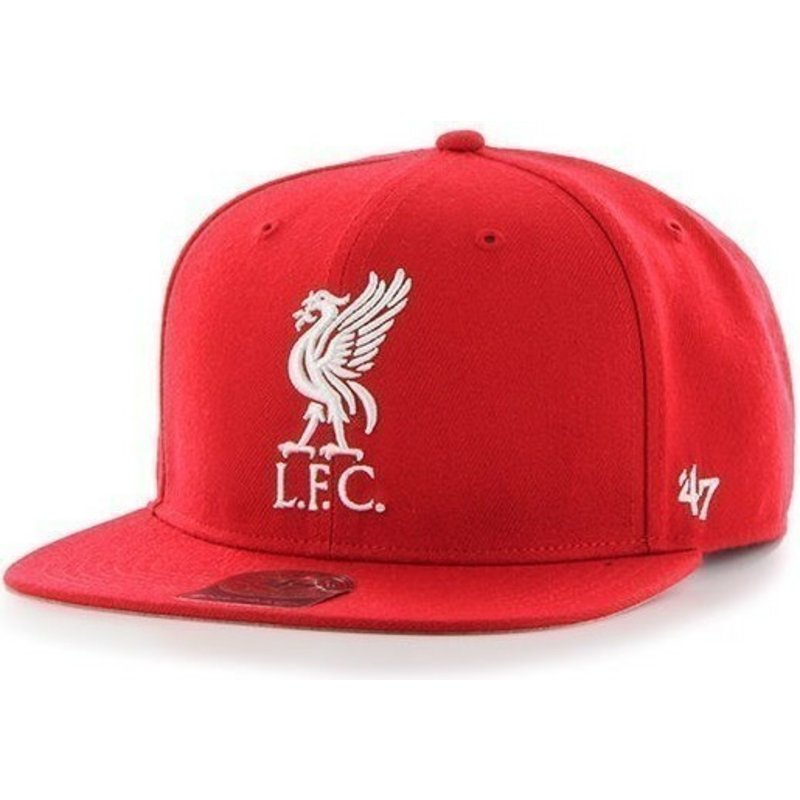 casquette-plate-rouge-snapback-unie-avec-grand-logo-frontal-liverpool-football-club-47-brand