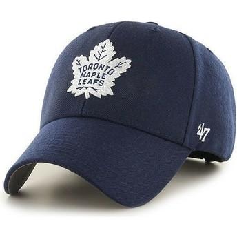 Casquette à visière courbée bleue marine NHL Toronto Maple Leafs 47 Brand