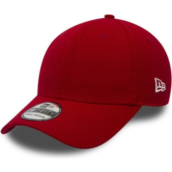 New Era Curved Brim 39THIRTY Basic Flag Fitted Cap rot