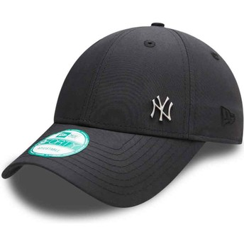 Casquette courbée noire ajustable 9FORTY Flawless Logo New York Yankees MLB New Era