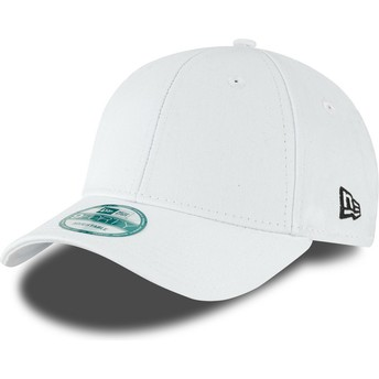 Casquette courbée blanche ajustable 9FORTY Basic Flag New Era
